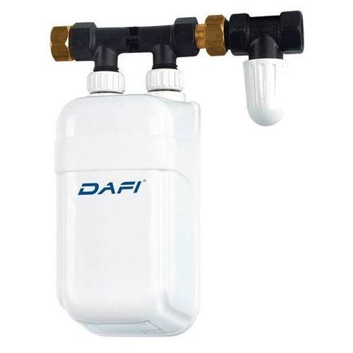 PRZEPŁYWOWY PODGRZEWACZ WODY DAFI 4,5 kW OGRZEWACZ z przyłączem - oferta (157a65215595e41e)