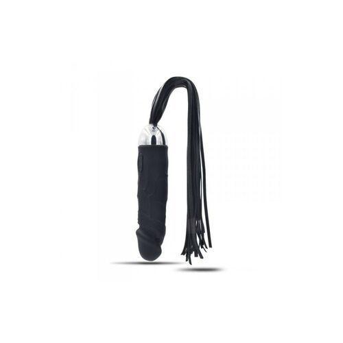 Wibrator analny masażer połączony z biczem 18cm > Gwarancja Dyskrecji - Darmowe wysyłki w 24h (8053629698501)