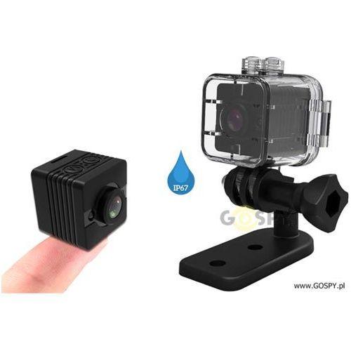 Mini kamera sq-12 podwodna full hd (160stopni) marki Gospy.pl