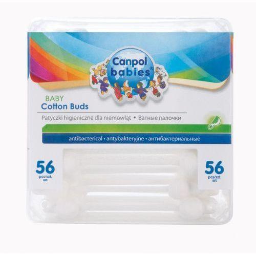 Canpol Patyczki higieniczne z ogranicznikiem 56szt (5903407031118)