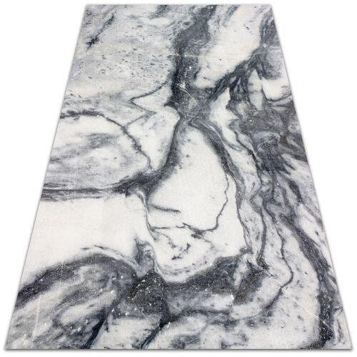 Nowoczesna wykładzina tarasowa Nowoczesna wykładzina tarasowa Czarno-biały marmur