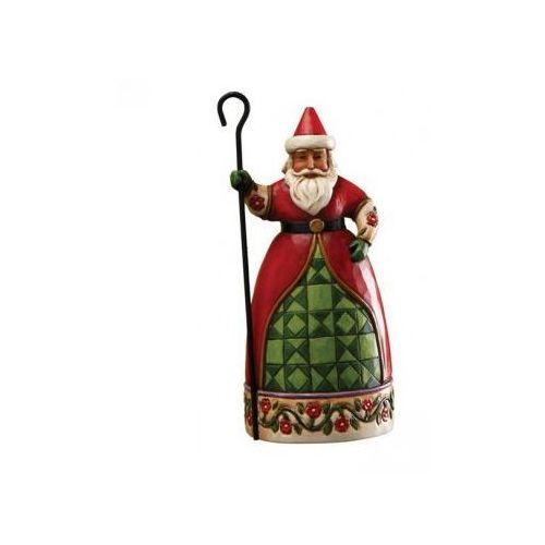 Mikołaj Świąteczny, (Santa With Cane Figurine), 4017601E Jim Shore figurka ozdoba świąteczna