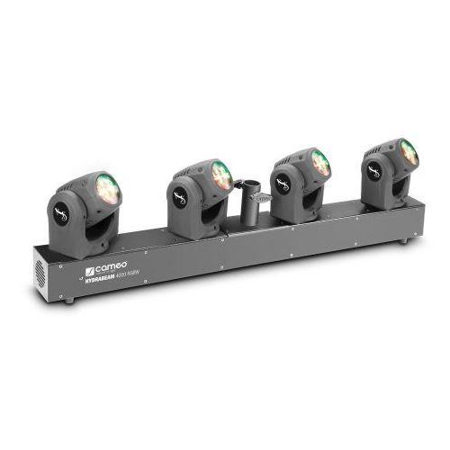 hydrabeam 4000 rgbw - listwa oświetleniowa wyposażona w 4 ultraszybkie lampy 32 w rgbw quad led marki Cameo