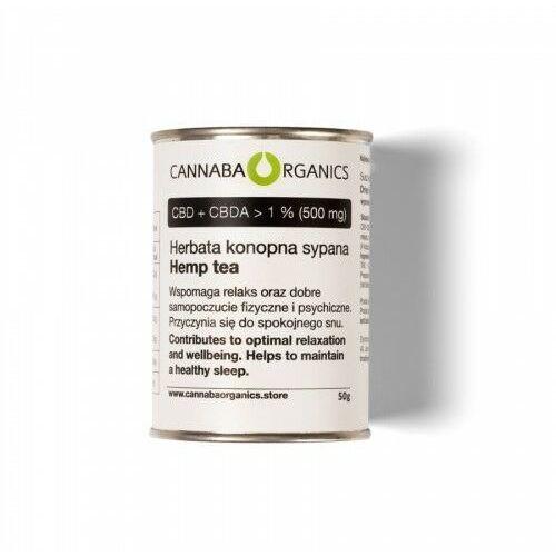 Herbata z kwiatostanów konopi (50 gram) (5902198162032)