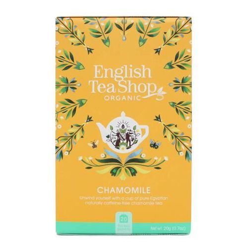 Herbatka rumiankowa 20x1 g bio 20 g p marki English tea sho