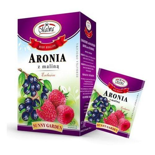 Herbata aronia z maliną 20*2g fix MALWA (5902781002097)