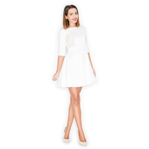 545e46dc245d20 ... Sukienka Mini z Koronką, rozkloszowana 129,00 zł Materiał: bawełna 73%,  poliester 22%, elastan 5%.przystępne wymiary: S (36), M (38), L (40), XL ...