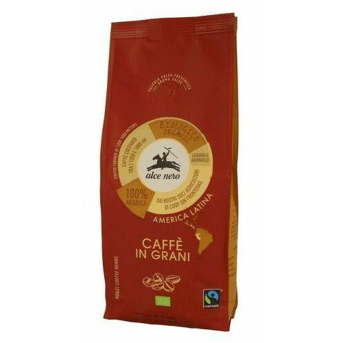 Alce nero (włoskie produkty) Kawa 100% arabica ziarnista fair trade bio 500 g - alce nero
