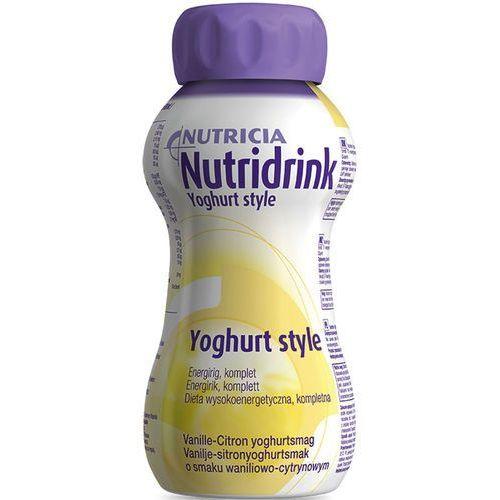 Nutricia Nutridrink Yoghurt - waniliowo-cytrynowy - dieta wysokoenergetyczna - 200ml