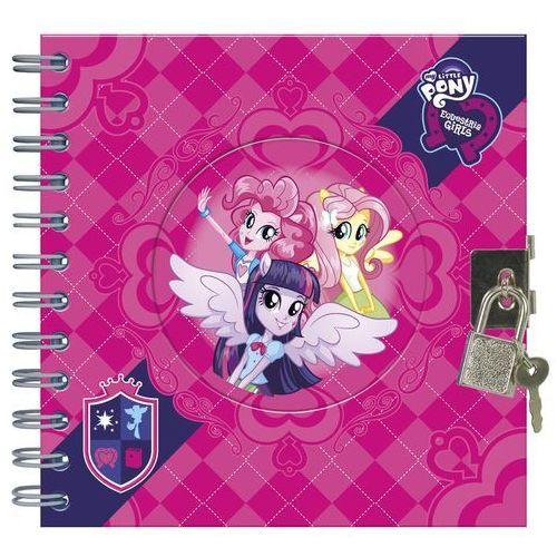 Pamiętnik na spirali na kłódkę My Little Pony Derform - oferta [e57461280525e6b3]