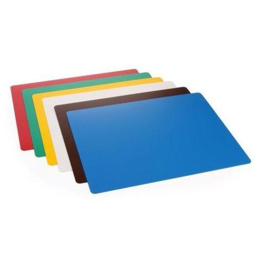 Podkładki do krojenia haccp w różnych kolorach | 6szt. | 380x305x(h)1,4mm marki Hendi