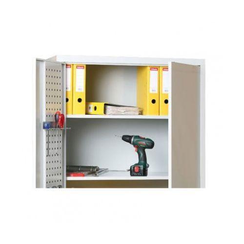 Dodatkowe półki, 1200x400 mm, szare, 2 szt