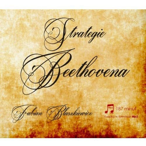 Strategie Beethovena – Fabian Błaszkiewicz (CD Audiobook)