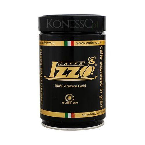 Izzo caffe' Kawa włoska izzo caffe 100% arabica gold 250g ziarnista (8019925000097)
