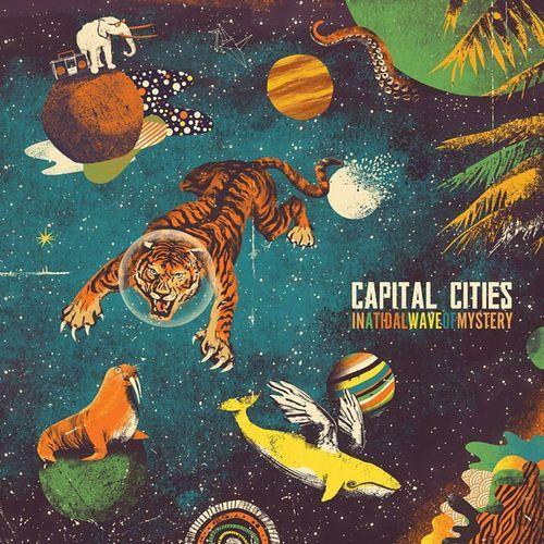 CAPITAL CITIES - IN A TIDAL WAVE OF MYSTERY (CD) z kategorii Disco i dance
