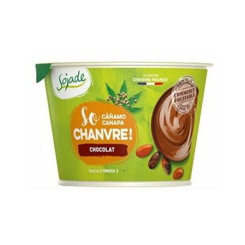 Deser z konopi czekoladowy bio 180 g - sojade marki Sojade dystrybutor: bio planet s.a., wilkowa wieś 7, 05-084 leszno k.