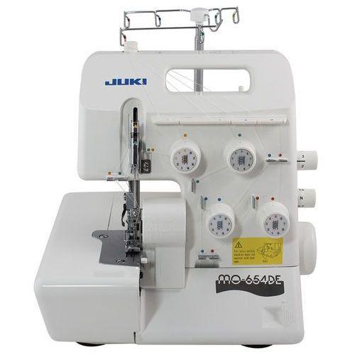 Juki mo-654de -- 2-, 3-, 4-nitkowy overlock dla użytkowników wymagających najwyższej jakości i funkcjonalności