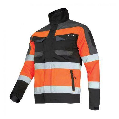 Lahtipro Lahti pro l4041204 kurtka ostrzegawcza - slim fit czarno-pomarańczowa, ce, rozmiar xl (5903755128072)