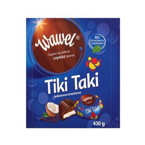 430g tiki taki kokosowo-orzechowe czekoladki z nadzieniem marki Wawel