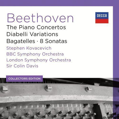 Universal music / decca Stephen kovacevich - beethoven piano concertos (collectors edition) (0028947864523)