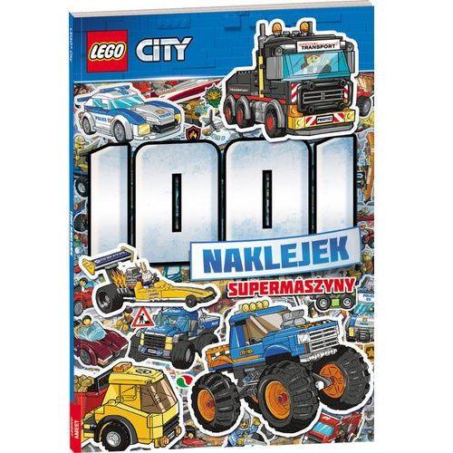 LEGO CITY 1001 naklejek Supermaszyny