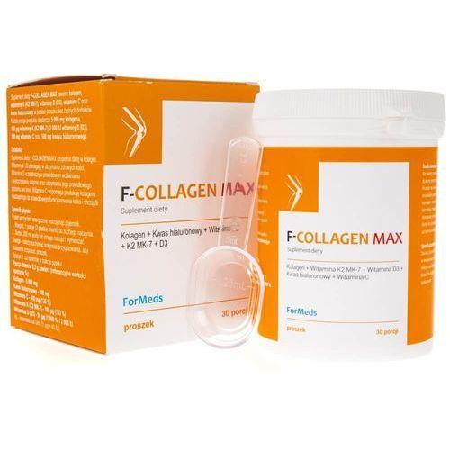 Proszek F-COLLAGEN MAX - Kolagen, witaminy K, D i C oraz kwas hialuronowy - ForMeds