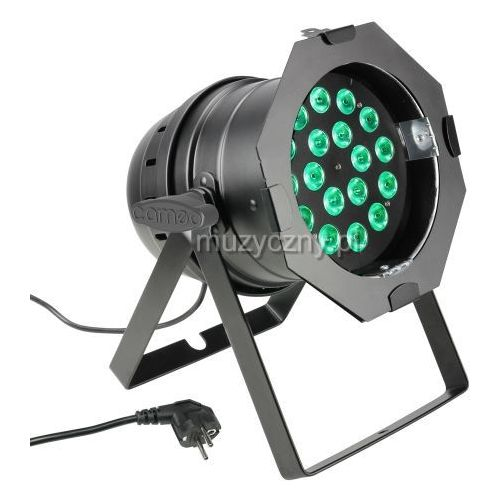 par 64 can - 18 x 8w quad colour led par can rgbw - reflektor led w czarnej obudowie marki Cameo