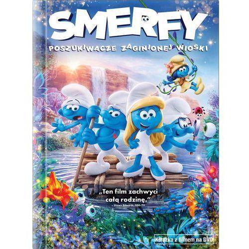 Imperial cinepix Smerfy: poszukiwacze zaginionej wioski (dvd) + książka (5903570159985)