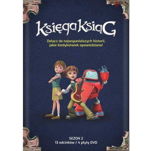 Praca zbiorowa Księga ksiąg - sezon 2 box (4 x dvd) (5903856992664)