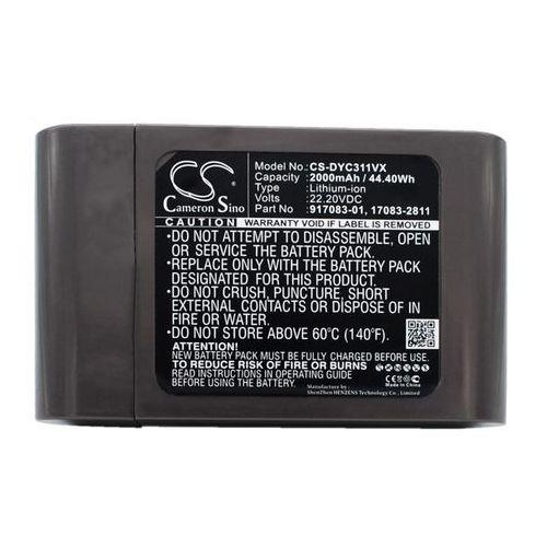 Dyson DC31 / 17083-2811 2000mAh 44.40Wh Li-Ion 22.2V (Cameron Sino) (4894128098140)