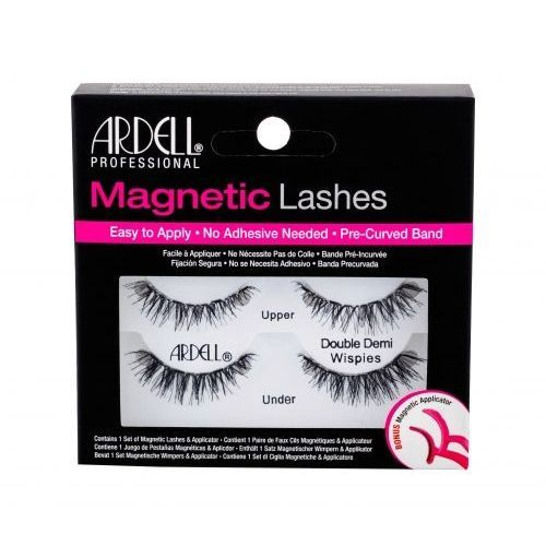 Ardell Magnetic Lashes Double Demi Wispies sztuczne rzęsy 1 szt dla kobiet Black