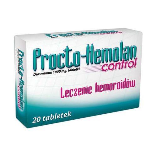 PROCTO-HEMOLAN CONTROL 1000 mg 20 tabletek (5909990786299)