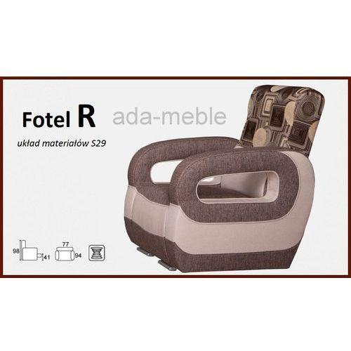 FOTEL R z kategorii fotele