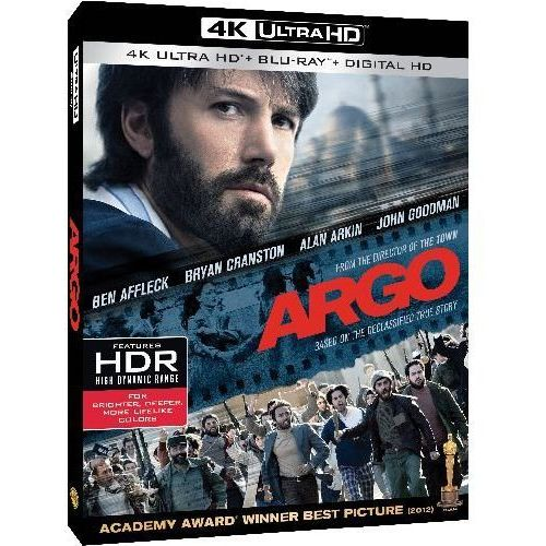 Operacja Argo (4K Ultra HD) (Blu-ray) - Ben Affleck DARMOWA DOSTAWA KIOSK RUCHU (7321999342975)