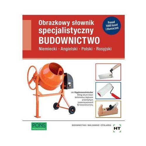 Obrazkowy sł. specjalistyczny - Budownictwo PONS (9788380639225)