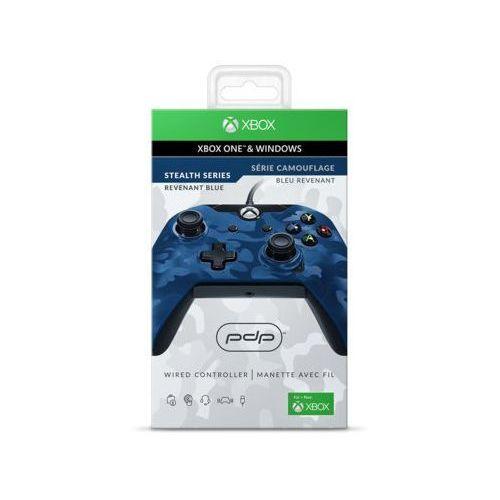 Kontroler przewodowy PDP Revenant Blue do Xbox One/PC
