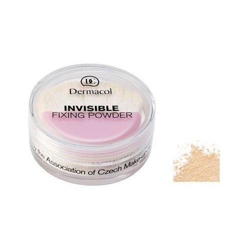 invisible fixing powder - sypki puder fixujący natural, 13 g marki Dermacol