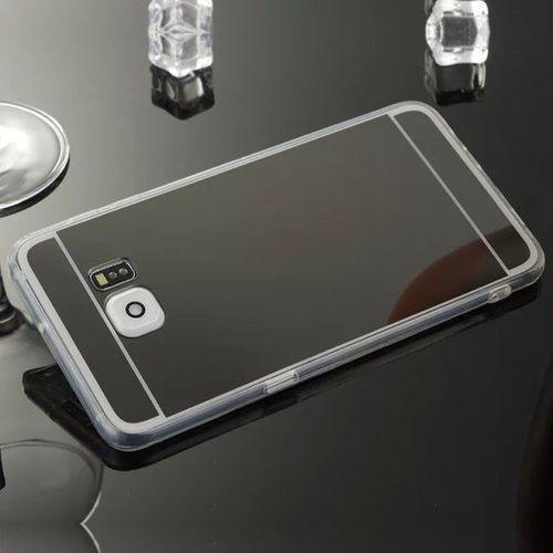 Slim Mirror Case Czarny   Etui dla Samsung Galaxy S7 - Czarny, kolor Czarny