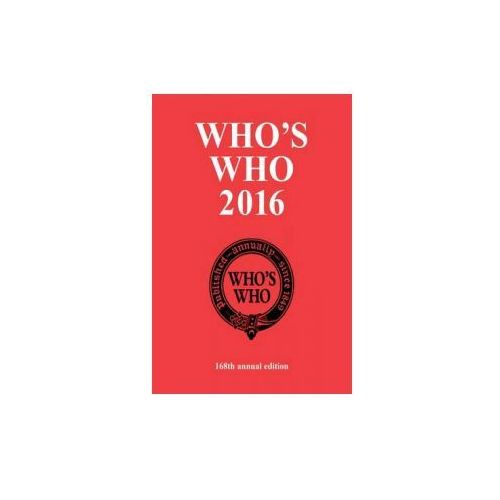 Who's Who 2016 (9781472904706)