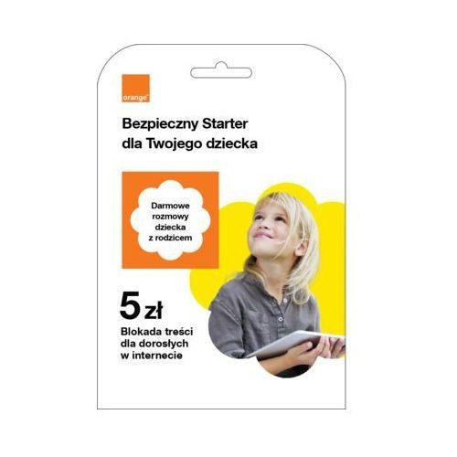 Starter bezpieczny starter dla twojego dziecka 5 pln marki Orange