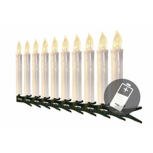Świeczki choinkowe - bezprzewodowe - 10 szt.