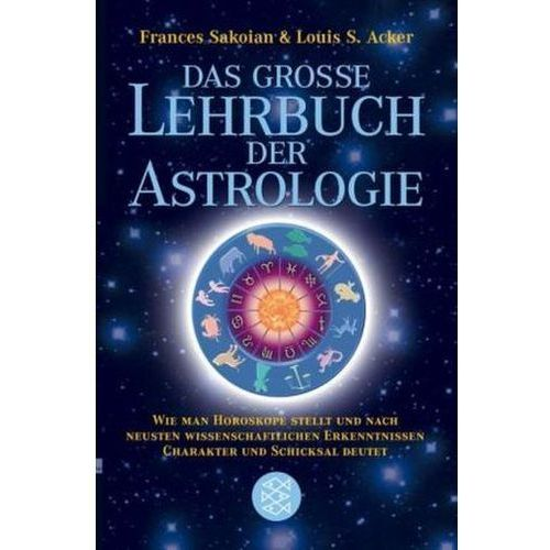 Das große Lehrbuch der Astrologie (9783596168514)