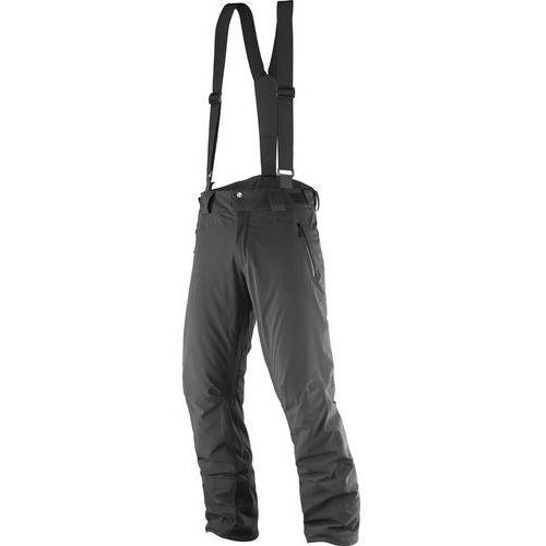 Salomon iceglory spodnie długie mężczyźni czarny xxl 2017 spodnie syntetyczne