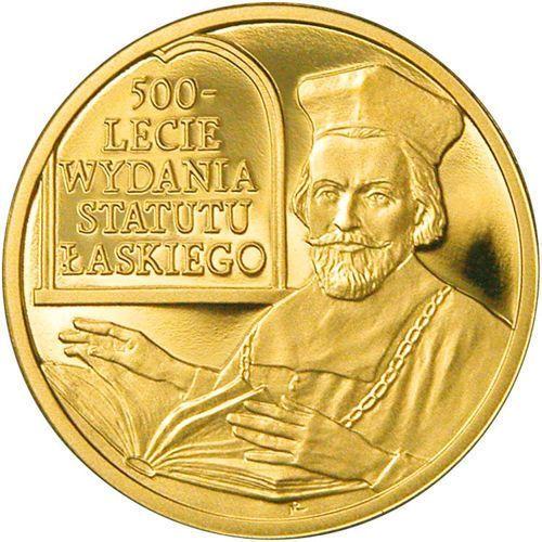 100 zł - 500-lecie wydania statutu łaskiego - 2006 marki Nbp