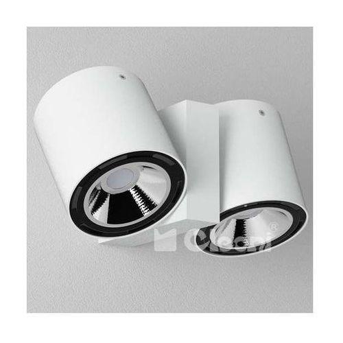 Kinkiet LAMPA ścienna TITO T113K1+kolor Cleoni metalowa OPRAWA regulowana SPOT tuby