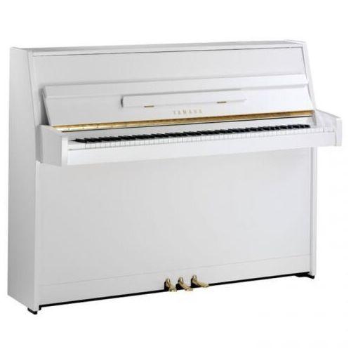 Yamaha b1 pwh pianino (109 cm), kolor biały, połysk (polished white)