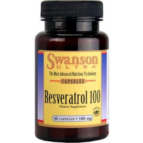 Resweratrol korzeń rdest japoński 100mg Resveratrol 30 kapsułek SWANSON