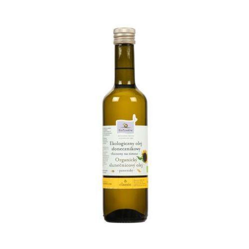 BIO PLANETE 500ml Ekologiczny olej słonecznikowy tłoczony na zimno Bio