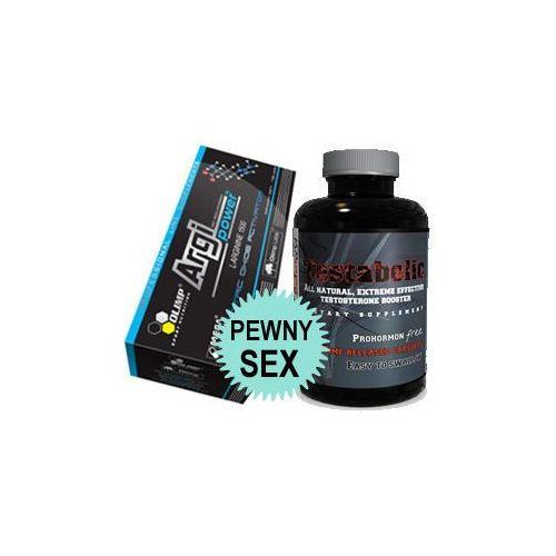 Prawdziwy sex od zaraz 120 kaps. + 90 kaps. marki Olimp