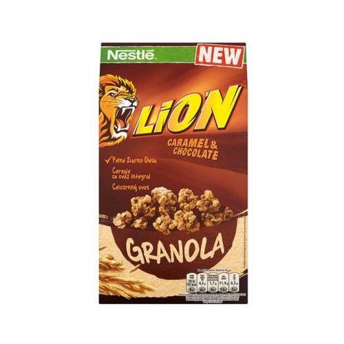 300g lion granola płatki śniadaniowe marki Nestle